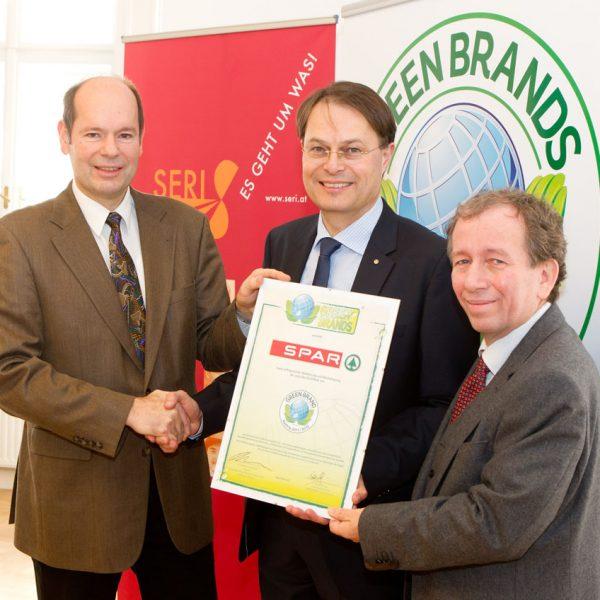 Verleihung des Green Brands Siegels