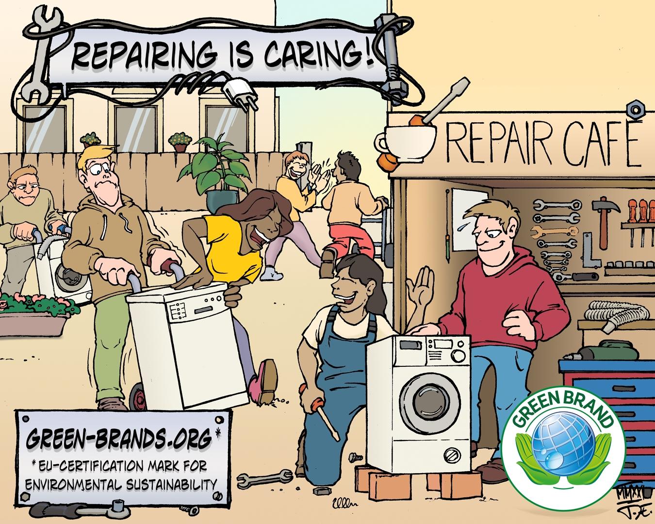 Repairing is caring!